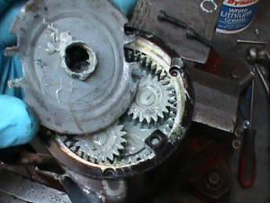 Back of Harley davidson reverse motor