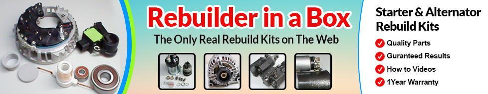 Alternator Starter Rebuild Kits