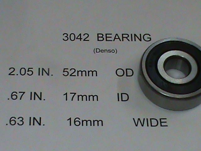bearings 007