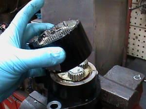 can of Harley Davidson reverse motor