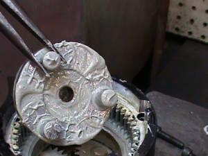 rotor of a Harley Davidson reverse motor